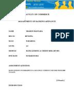 Dissertation banking system