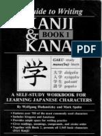 Guide to Writing Kanji Kana Book1