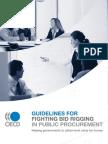 2009 - OECD Bid Rigging Guidelines