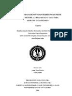 Penentuan Dana Pensiun Dan Perhitungan Premi Dengan Metode Accrued Benefit Cost
