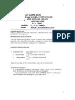 Akshat Jain Resume