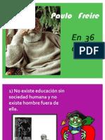 Freire en 36 Citas