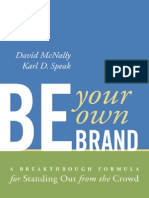 Be Your Own Brand Excerpt