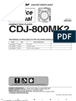 DJM-800 | Microphone | Electrical Connector