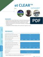 Topmet Clear Datasheet