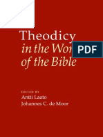 Theodicy in the World of the Bible - LAATO, Antti, MOOR, Johannes C. De