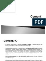 Cement Summary