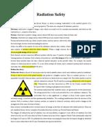Radiation+Safety