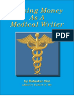 Making Money as a Medical Writer