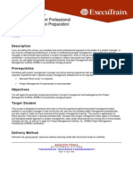 PMP Certification 4th Edition