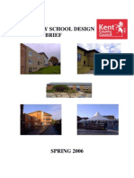 Secondary School Design Brief June 06