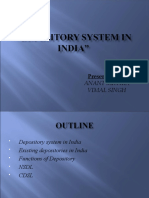 Depositary System in India