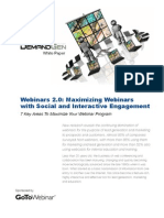 Social Interactive Engagement
