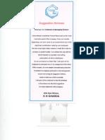 Suggestion Scheme