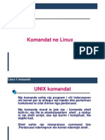 Disa Komanda Ne Linux