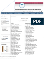 INTERNATIONAL MEDICAL JOURNAL OF STUDENTS' RESEARCH