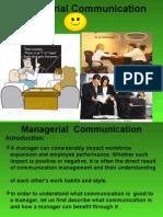 Managerial Communicat100411