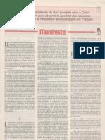 Les 110 propositions du Parti socialiste pour 1981