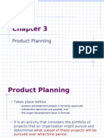 Chapter 03 Product Planning