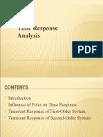 Bmt437-Time Response Analysis