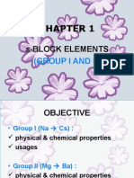CHAPTER 1 S-Block Elements Latest