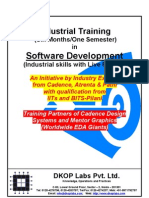 Industrial Training in Software - 2011