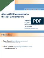 Atlas - AJAX Programming for the.net 2.0 Framework