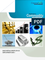 Bullion Commodity Reports for the Week (2nd – 6th May '11)