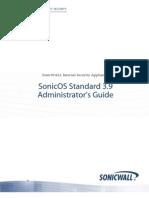SonicOS Standard 3 9 Administrators Guide