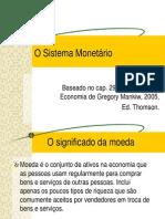 Economia - O Sistema Monet_rio