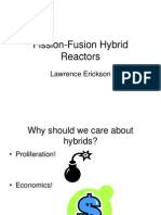 Erickson - Fusion-fission Hybrids
