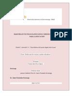 Guía didáctica de  póster digital integrando el podcast educativo