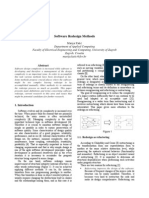Software Redesign Methods