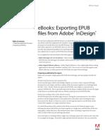 eBooks Exporting Epub