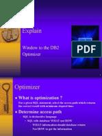 DB2 Explain