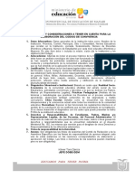 CONSIDERACIONES Y ESTRUCTURA DE CÓDIGOS DE CONVIVENCIA