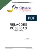 Apostila de Relacoes Publicas Prof.cleberDutra