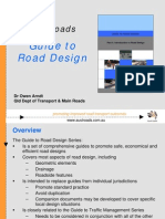 Austroads Road Design