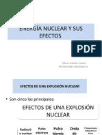 ENERGÍA NUCLEAR Y SUS EFECTOS