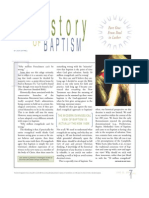 The History of Baptism 1 - Jack Cottrell