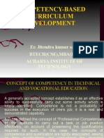 Competency-based Curriculum Developmentt