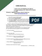 User Manual SBC51 LCD