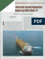 Total Brings Onstream Second Deepwater Hub in Angola's Prolific Block 17