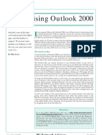 Customizing Outlook 2000