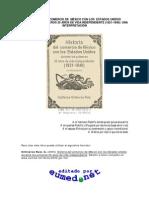 Historia Del Comercio de Mexico Con Los Estados Unidos (1821-1846)