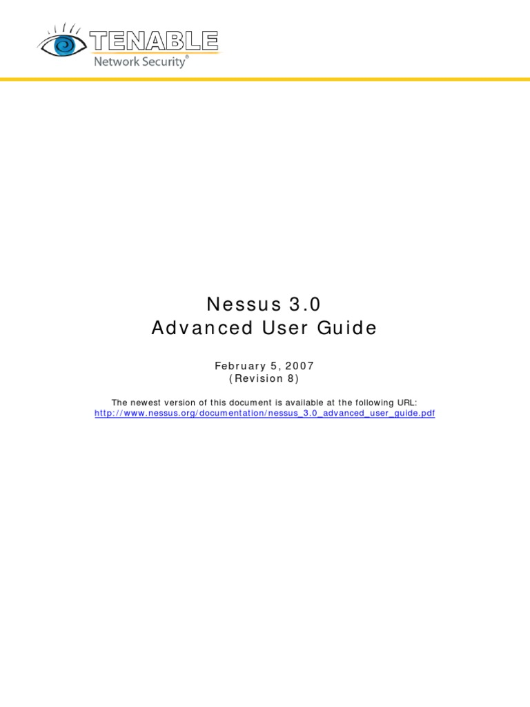 Nessus 3 0 Advanced User Guide | Port (Computer Networking
