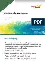 Adv Dial Plan Design