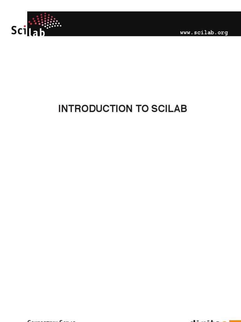 TÉLÉCHARGER SCILAB 4.1.1
