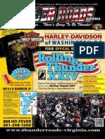 Thunder Roads Virginia Magazine - May 2011