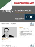 MTS2011 Digital Marketing Tips and Tools ethology - Mountain Travel Symposium